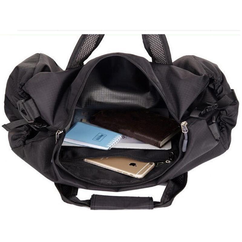 Scione Vanntett Reise Bag Multifunksjon Travel Duffle Vesker til - Bagasje og reiseposer - Bilde 2
