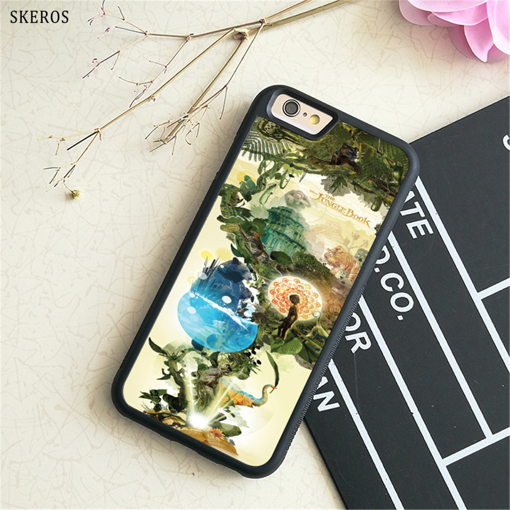SKEROS The Jungle Book 5 (3) phone case for iphone X 4 4s 5 5s 6 6s 7 8 6 plus 6s plus 7 & 8 plus #B748