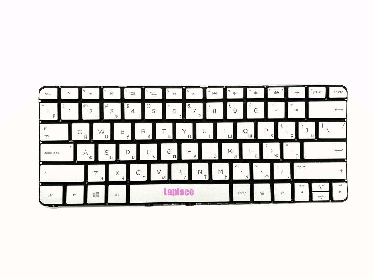 New Russian backlit silver keyboard for HP Spectre Pro