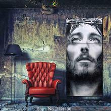 3 Pieces Jesus of Nazareth Pictures Modern Home Decor Canvas Print Wall Art HD Painting