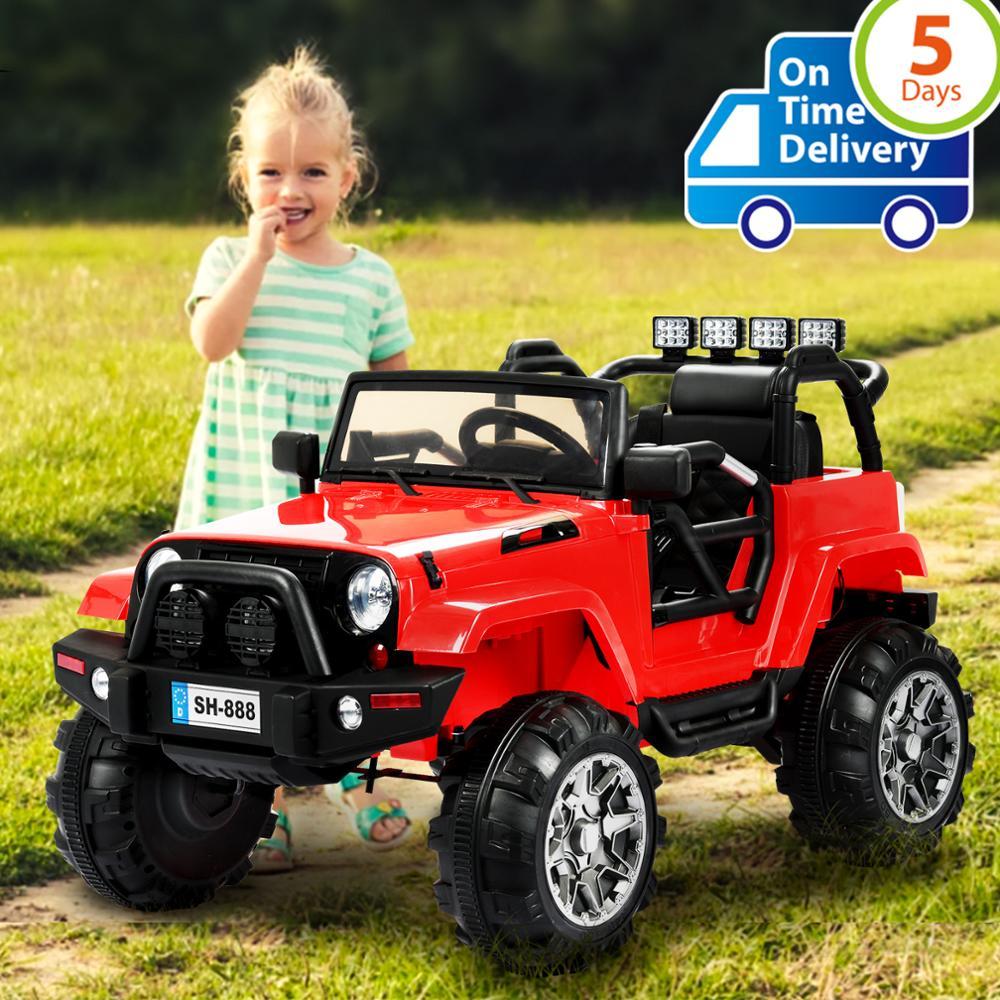 Uenjoy Ride on Car 12 V batterie puissance voitures électriques pour enfants voitures motorisées pour enfants avec roues Suspension, télécommande...