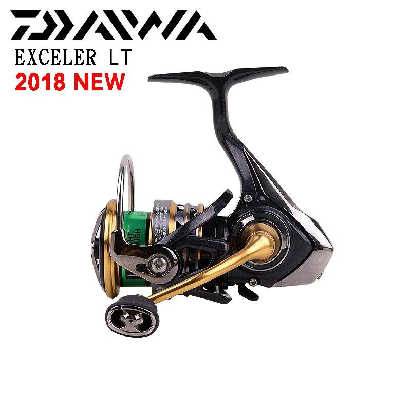 2018 Original DAIWA Spinning reel EXCELER LT 2000DXH 2500XH 3000CXH Fishing reel 5BB Made in Vietnam