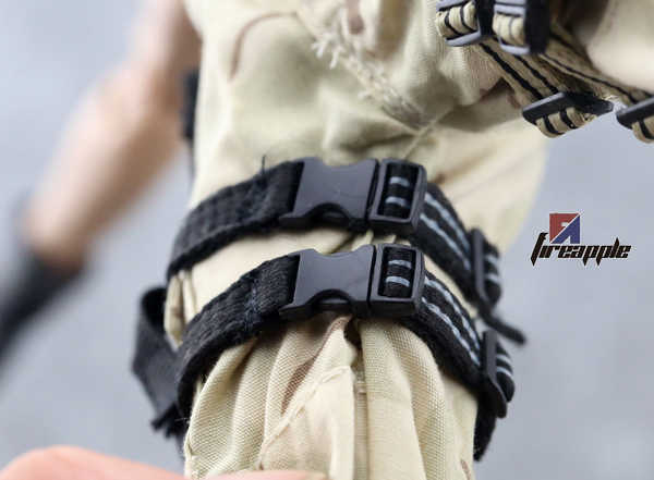 1/6 солдат PH театр PMC ноги, висит Пистолет Глушитель Быстрый Потяните комплекты моделей песочного цвета фигурки