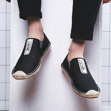 BVNOBET Mens Shoes Summer Slip On Solid Espadrilles