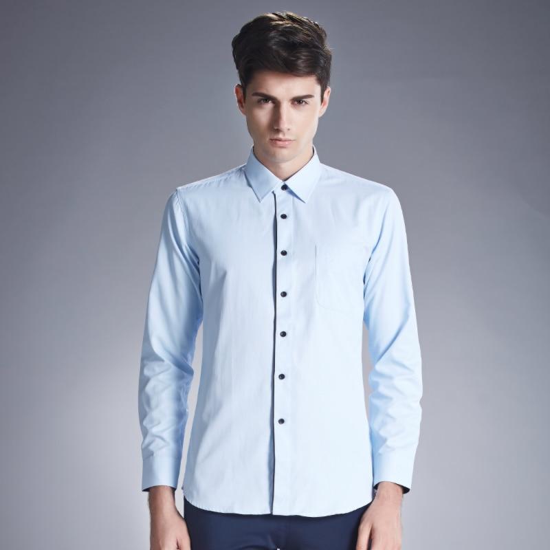 Aliexpress.com : Buy 2016 New Design Mens Dress Shirts Blue Shirt ...