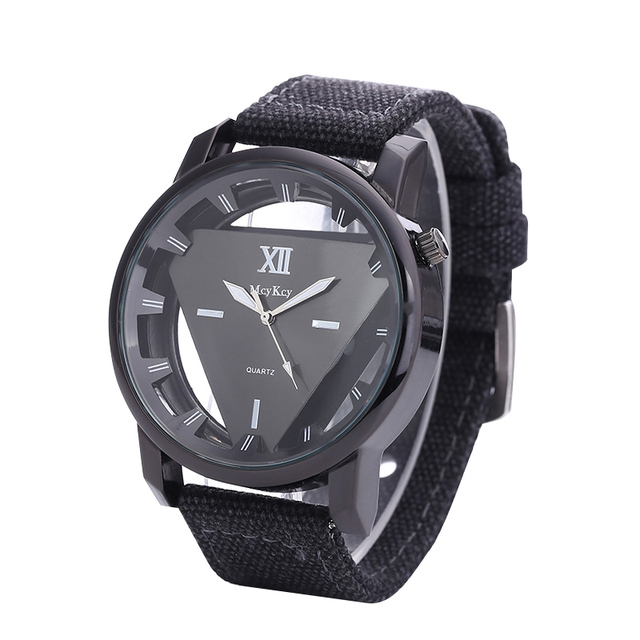 Relogio feminino Women Watch Skeleton Watches Triangle Watch New Style Unisex Si