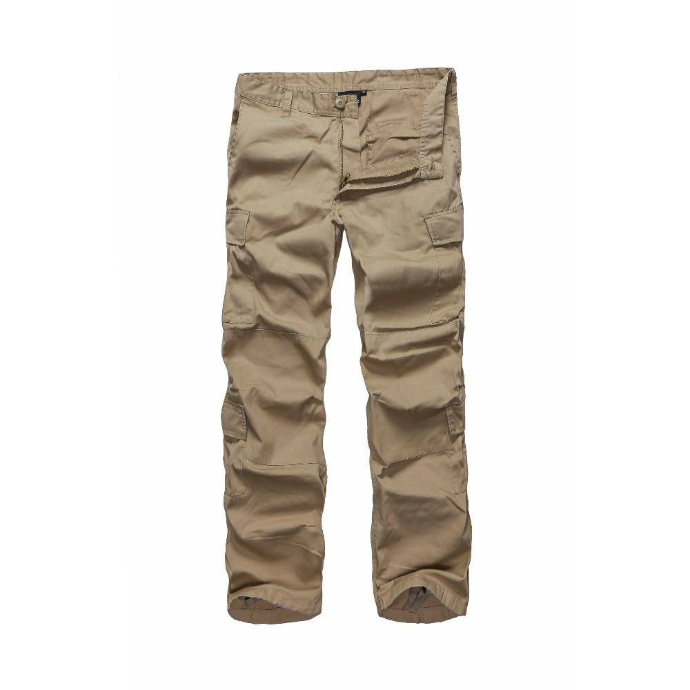 Mens Arbeit Handel Tragen Cargo Hosen Multi Taschen Casual langlebige cargo Hosen