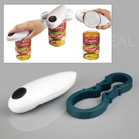 Top Fashion Electric Automatic Cordless Hands Free Can Jar Tin Opener Open Tool 2014