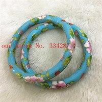Wholesale 1PCS Chinese Handmade Cloisonne Enamel Cuff Hollow Bracelet Bangle 004