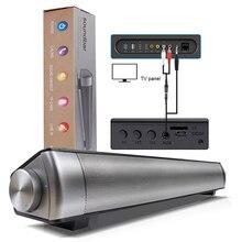Оригинальный LP-08 обновления Беспроводной сабвуфер, динамик bluetooth звуковая панель стерео super bass портативный динамик для ТВ смартфон
