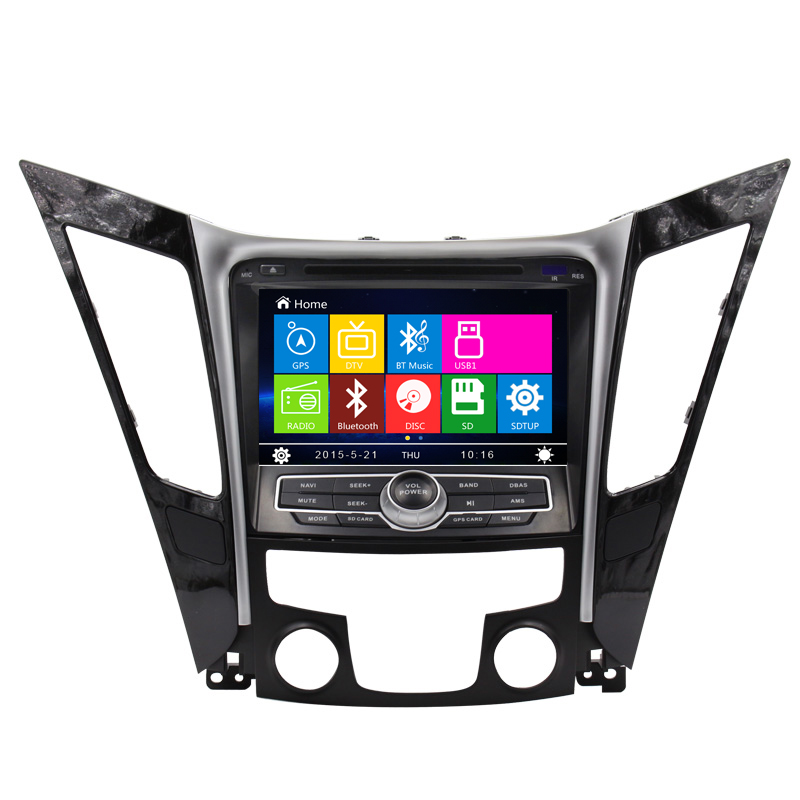 Free Shipping Car DVD For Hyundai I45 Sonata 2011 2012 2013 2014 with Bluetooth RDS AM