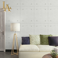 Modern Vintage Simple Art Wallpaper For Walls Solid Color PVC Wall Paper Rolls For Bedroom Living