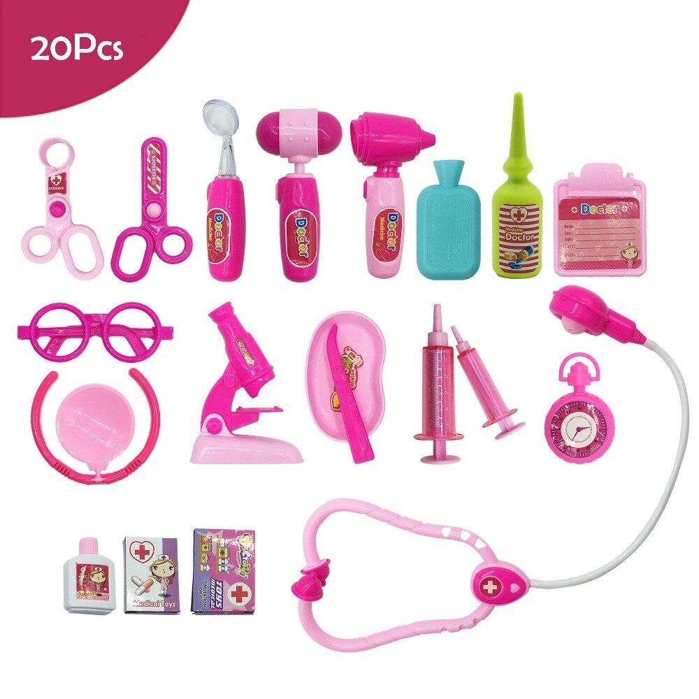 20Pcs Pretend Play Doctor Nurse Toy Set