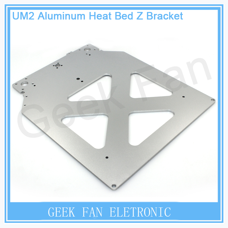 For 3D printer Ultimaker 2 UM2 Table Base Plate Z platform bracket supporting aluminum alloy heated hot bed plate 3D0145