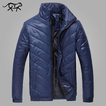 2017 Markenkleidung Herren Jacken und Mäntel Casual Männer Winterjacke mode Schlank und Fit Tragen Plus Größe 5XL Baumwolle Gepolsterte Hombre