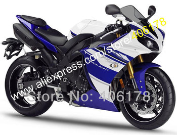 YZF1000 R1 Abs Fairing For YZF R1 12-14 YZFR1 2012 2013 2014 Blue White Motorcycle Fairing (Injection molding)