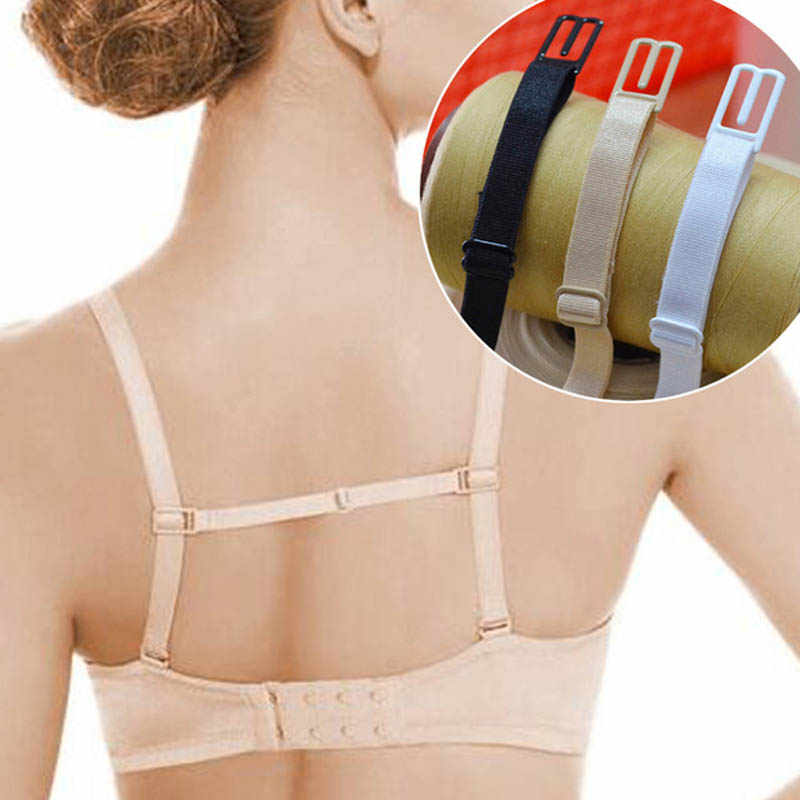 5 Colors Double-Shoulder Straps Slip-Resistant Belts Buckle Shoulder Straps Bra Non-Slip Back Bra Straps Holder Adjustable