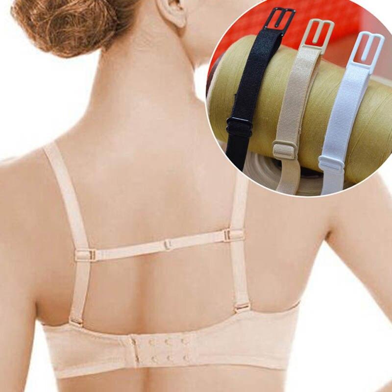 5 Colors Double-Shoulder Straps Slip-Resistant Belts Buckle Shoulder Straps Bra Non-Slip Back Bra Straps Holder Adjustable