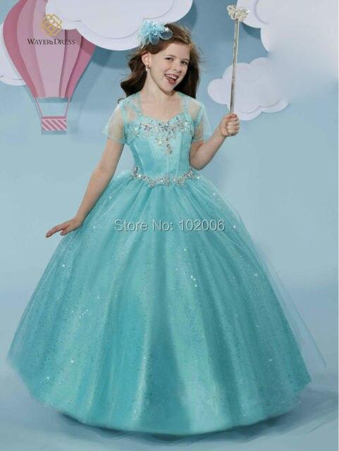 Vestidos de fiesta para nina azul