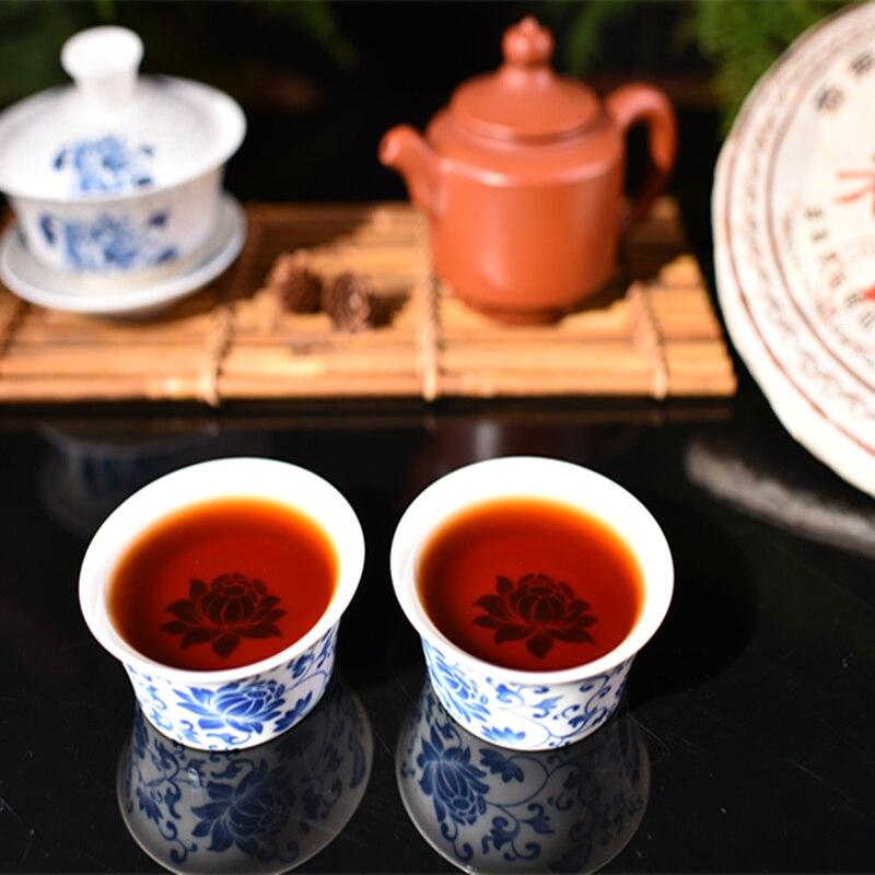 2006 Laobanzhang Yunnan Pu Erh Tea 357 G Chinese Ripe Puer Pu erh Tea Menghai