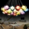 Colorful Glass Bubble Modern Led Pendant Lights Lamp For Living Dining Study Room Shop Bar Decoration LED Pendant Lamp AC85-265V