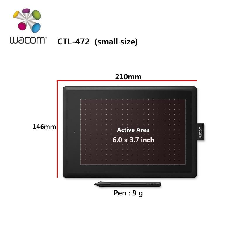 Un par Wacom CTL-472 tablette numérique Graphique Dessin Comprimés 2048 Niveaux de Pression + Cadeau Packs + 1 Année Garantie - 3