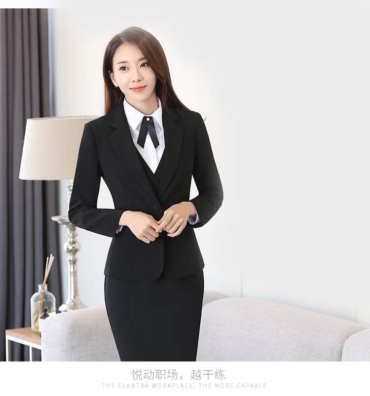 affordable price hot-selling discount newest selection US $20.64 20% OFF|Workwear Women's Suit Long Sleeves Blazers + Suit Skirts  Interview Business Men's Suit Set Big Size 5XL-in Skirt Suits from Women's  ...