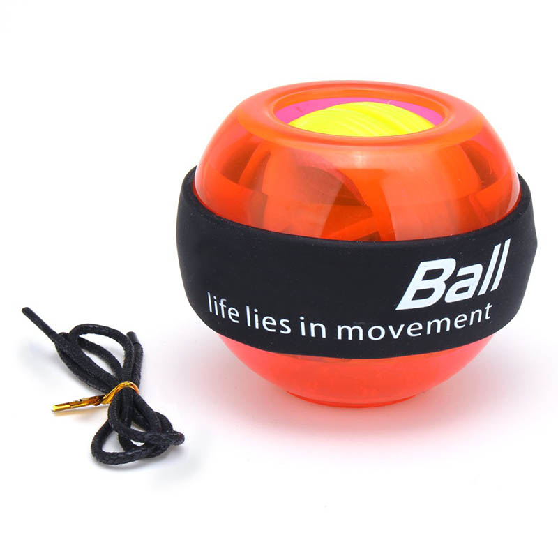 Gyroscope Powerball LED Gyro Power Wrists Ball Arm Exercise Force Strength Training Energyball Home Gym Sports Fitness Equipment (5)