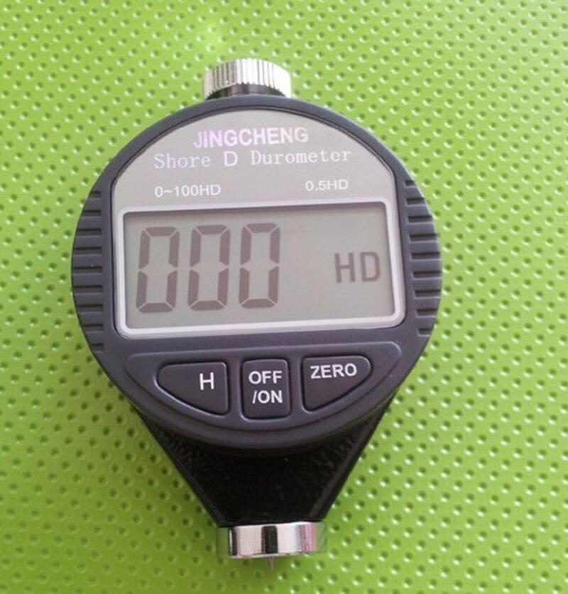 Digital Shore D Tester Hardness Meter Rubber Plastics Durometer 0~100HD