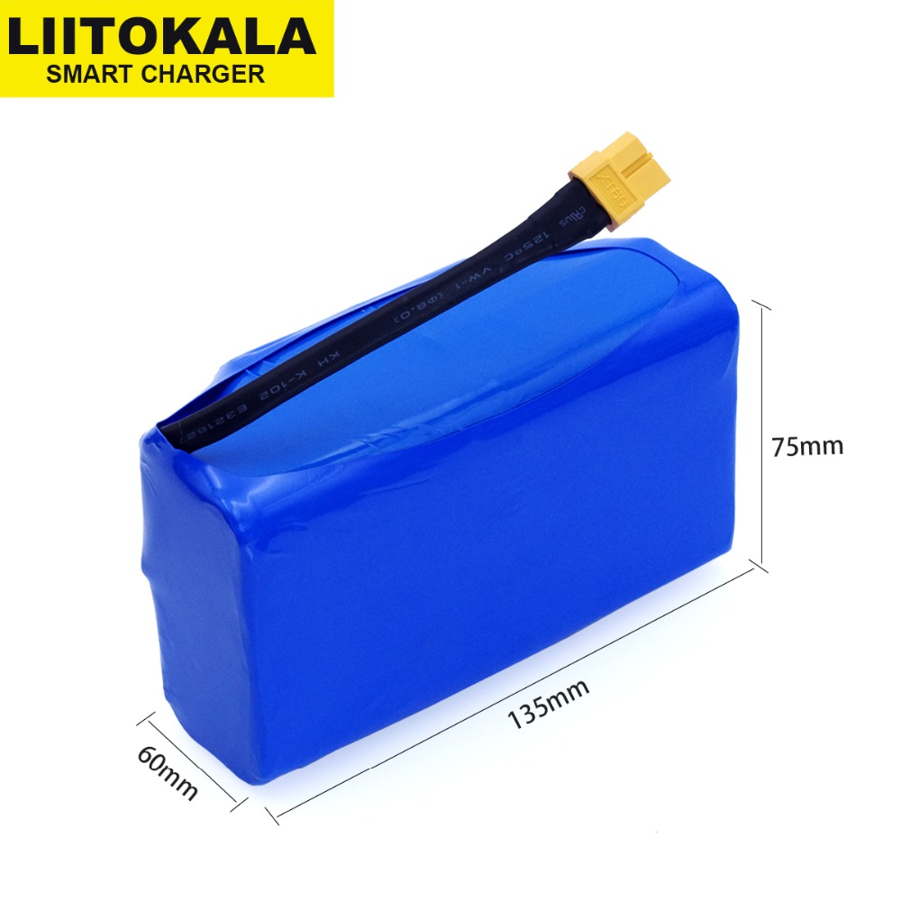 36V Rechargeable li-ion battery pack 4400mah 4.4AH lithium ion cell for electric self balance scooter hoverboard unicycle dedicated power supply import batteries electric unicycle lithium battery pack 60 v electric balance car battery