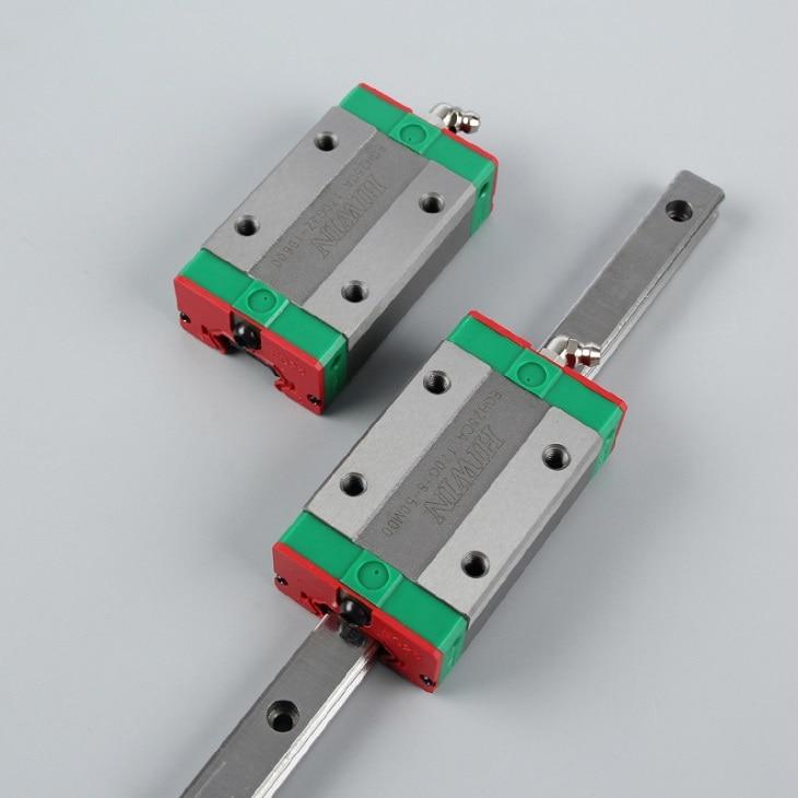 2pcs 100% original HIWIN linear guide rail EGR25 -L 1000mm + 4pcs EGH25CA linear block for CNC router2pcs 100% original HIWIN linear guide rail EGR25 -L 1000mm + 4pcs EGH25CA linear block for CNC router