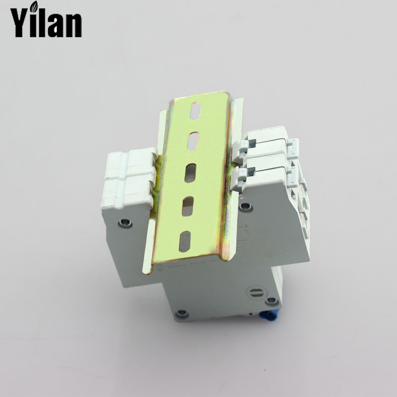 29cm Wiring Guide With Air Switch Leakage Protector Circuit Breaker DZ47 Rails leakage circuit protector air switch residual current circuit breaker dz15le 100 490 100a