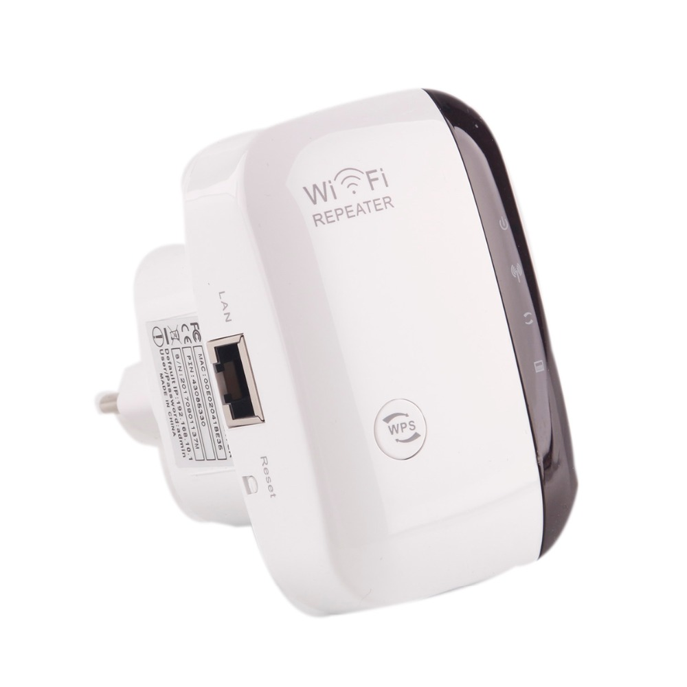 Wireless Wifi Boosters Repeater Signal-Amplifier Wps 300mbps Extander Range 2 Encryption