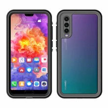 Redpepper Seal Waterproof Phone Cover For Huawei P20 Ultra Thin Shockproof Case For Huawei P20 Pro Diving Protective Cover