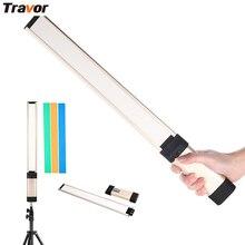 Travor L2 Thinest 7mm 3200k/5500K Led Portable Handheld Magic Light Tube 2200mAh For Video DV Digital Camera video photography