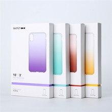 純粋なオンブルappleのiphone 5 xr xs最大効果ドロップ保護スリムプロファイルTech21 appleのiphone 5 xs最大11プロマックス