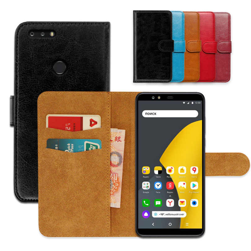 Luxury wallet case for Yandex Smartphone PU Leather Special Flip Case With Card Pocket Ultra-thin Phone Cover,Kickstand case
