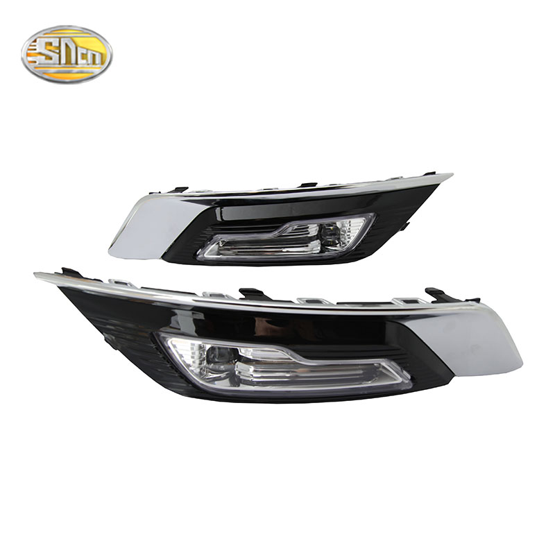 где купить SNCN LED daytime running lights for Ford Fusion Mondeo 2018 DRL Fog lamp driving lights дешево