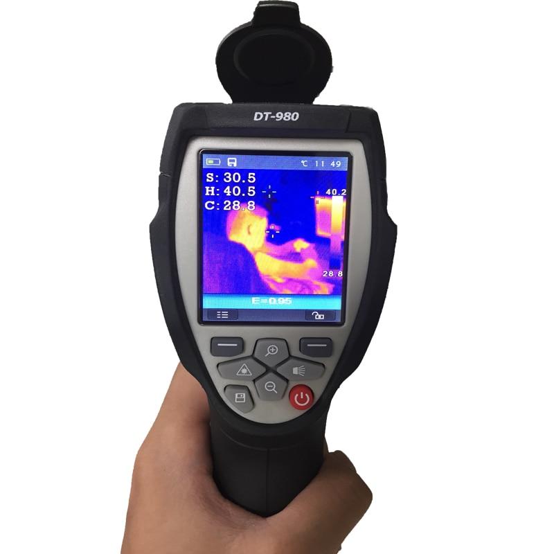 Caméra infrarouge visuelle d'imagerie de thermomètre infrarouge d'imageur thermique de haute Performance d'affichage