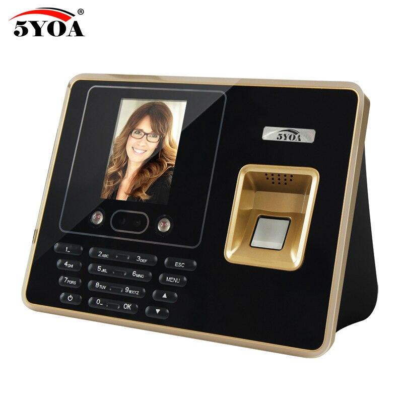цена 5YOA BF30 Fingerprint Time Attendance Wifi Device Biometric Face Recognition Facial Employee онлайн в 2017 году