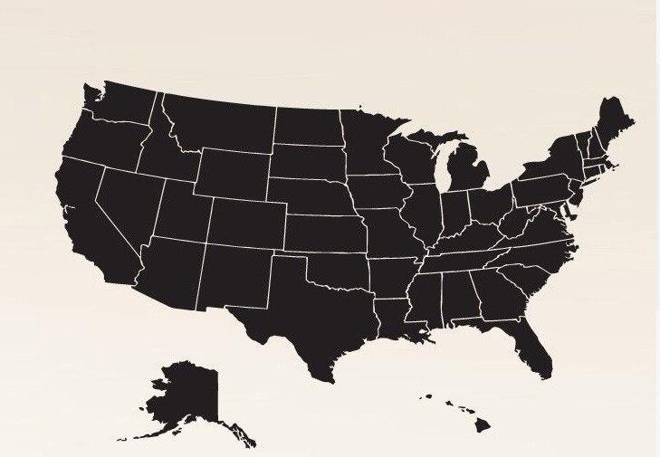 сша карта штатов картинки сайте