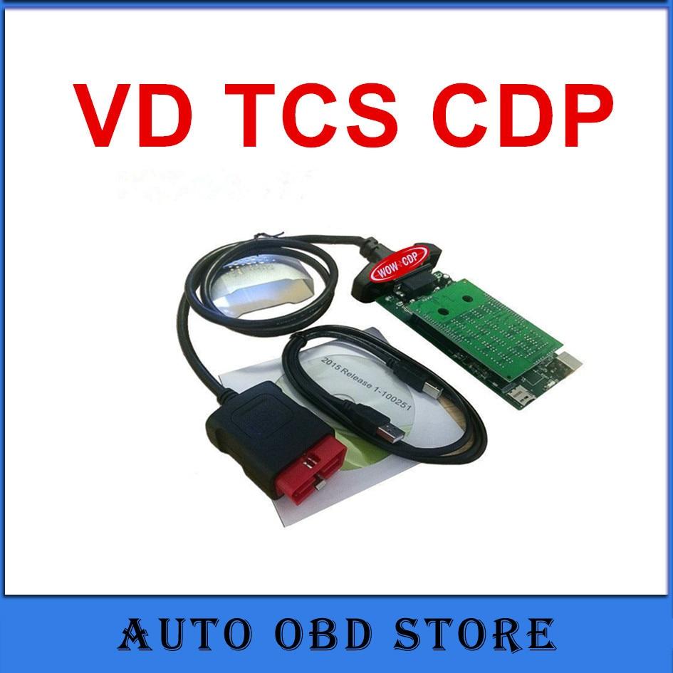 Цена за (3 шт./лот) с NEC Реле VD TCS CDP Pro Plus OBD2 Авто инструменту диагностики 2015R1 Бесплатная actitave для автомобилей/грузовиков