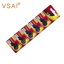 5pcs VSAI CR1632 3V 120mAh Battery Button Cell Batteries LM1632 BR1632 ECR1632 DL1632  For Remote Control