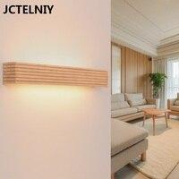 De madeira do banheiro levou espelho de luz de cabeceira lâmpada de parede personalizado estilo japonês|bedside wall lamp|wall lampbathroom mirror light -