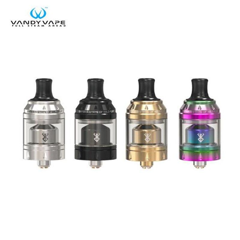 100% Original Vandy Vape Berserker Mini RTA MTL 2ml Capacity Atomizer Fit Pulse BF Box MOD Electronic Cigarette vandy vape new panel pulse bf squonker mod