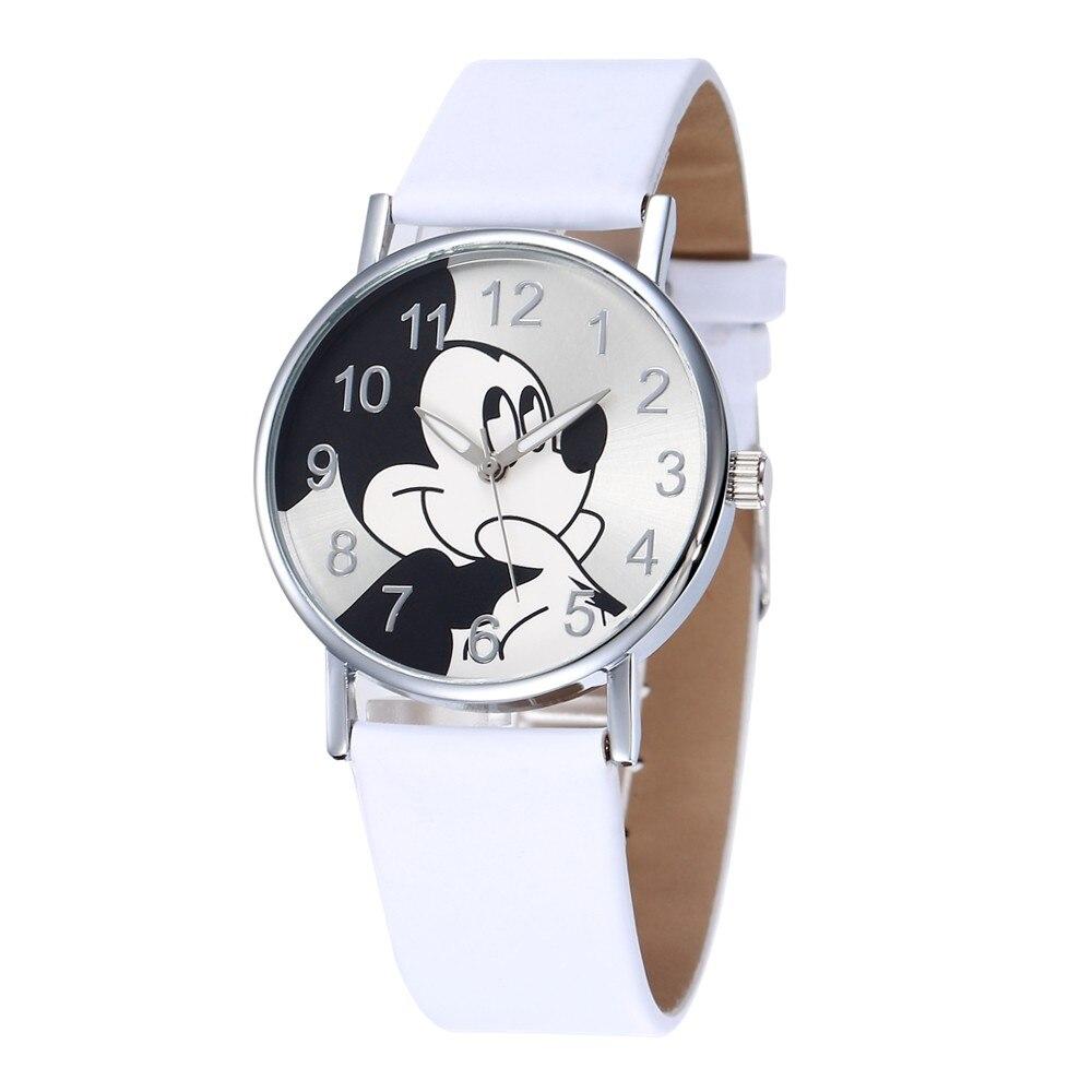 Cute Mickey Mouse Kids Watches Montre Minnie Montre Mickey Children Cartoon Wristwatch Clock Reloj Minnie Relojes