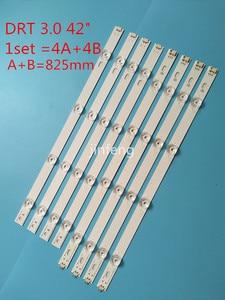Image 2 - New Kit 8pcs LED strip Replacement for LG LC420DUE 42LF652 42LB5500 INNOTEK DRT 3.0 42 inch A B 6916L 1710A 6916L 1709A