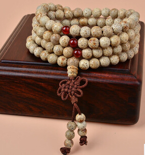 Xingyue Pu Tizi month high density bell Tibetan prayer beads bracelet 108 month