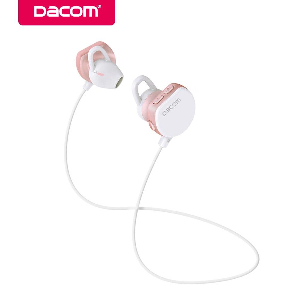 Dacom GF7 bluetooth wireless stereo headset hands-free earphone sport 4.1 music earbuds earpiece for iPhone Samsung girls woman