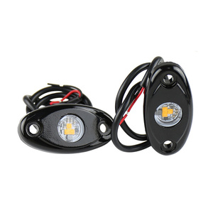 Image 2 - 2 Pcs 9 W Steamship Deck Lights Boat Decoration Colorful Lamp for Automobile Boat Jeep Off Road Motorcycle